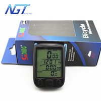 Wholesale Waterproof Multifunction Wireless Bike Bicycle Cycling Computer Odometer Speedometer LCD Backlight Backlit Computer NGT