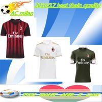 ac running - THAI Discount AC Milan soccer jerseys Full Set BACCA KAKA home black BONAVENTURA HONDA AC Milan football shirts whit socks Shorts