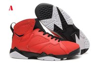 aj7 - Brand Men Retro Basketball Shoes Hares Olympic Bordeaux GG Cardinal Raptor French Blue AJ7 Sneake