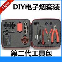 Wholesale Original Coil Master Tool Kit V2 DIY Kit Coil Master For RDA RBA Atomizer Rebuilding Vape Electronic Cigarettes tool Bags kits