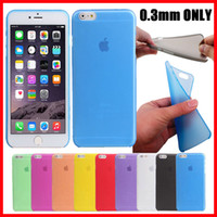 Wholesale 0 mm Ultra Thin Slim Matte Frosted Transparent Clear Soft PP Cover Case Skin For iPhone Plus S inch SE S S MOQ