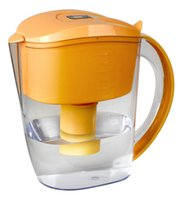 Wholesale DHL L portable alkaline water pitcher with layers of filtration chlorine removal