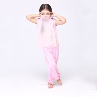 arabian princess party - India Belly Dance Dress Pink Arabian Fantasy Princess Cosplay Costumes Kids Girl Halloween Party Dresses Outfit Performance Stage wear EK072