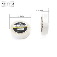 Wholesale Neitsi New Arrival High Quality Ultra Hold Roll Tape cm Yards Double sided Glue Tape Hair Extension Adhesives