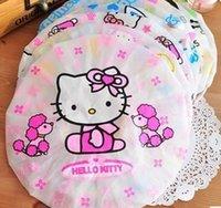 Wholesale 10pcs Cute Shampoo Shower Bathing Cap Hat bonnet de douche gorro For Hair Bathing Children casquette bain