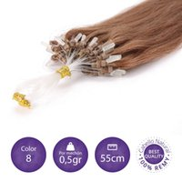 ash brown hair - 1g s g g Strand by Strand Ash Brown Hair Salon Professional Quality Loop Micro Ring BeadsTipped Human Hair Extensions