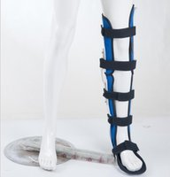 Wholesale Unadjustable Knee Ankle Foot Orthosis For Patella Knee Ligament Injury Posture Corrector Knee Fracture Support Orthopedic