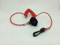 Wholesale Hot New COILED LANYARD BOAT PADDLE AND FISHING POLE LEASH quot SNAP HOOK KAYAKS CANOES