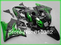Wholesale 3gifts New bike Fairing Kit For HONDA CBR600F2 CBR600FS CBR600 F2 CBR F2 F2 flame green top