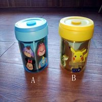Cheap Pikachu Insulation Lunch Box Cartoon Poke Tsum Stainless Steel Portable Children Kids meal box 2 designs LJJO593