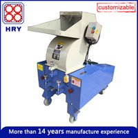 Wholesale Waste Plastic crusher machine with all type Heavy Duty Plastic Breaker Injection accessory machinery apply to ABS PP PC PVC Fiberglass