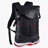 Wholesale New Fashion men s outdoor shoulder bag Jordan Backpacks bag women s and men s black