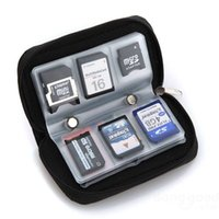 bag memory cards - Memory Card Storage Wallet Case Bag Anti static inner material Holder SD Micro Mini Slots Camera Phone NGH5030701