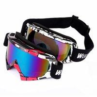 Wholesale WOLFBIKE Ski Goggles Protection Ski Snowboarding Skate Goggles Glasses Men Women Sun Glasses Eyewear S1034