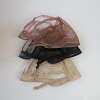 base net - Wig making Base Inner cap Adjustable Weave One Size Breathable Weaving Lace Net wig cap
