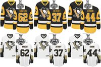 Wholesale Pittsburgh Penguins Carl Hagelin Jeff Zatkoff Erixon Men Women Youth Black White Stanley Cup Final Bound Custom Jerseys