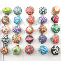 Wholesale Bohemian Mixed Adjutale Polymer Clay Rings Free Shiping round oval square flower shape