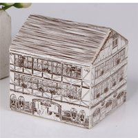 bakery house - 8x7 x5 cm Cookie package the Warm house bakery box biscuit box cake cases