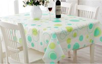 Wholesale Wipe Clean PVC Vinyl Tablecloth Dining Kitchen Table Cover Protector x180cm