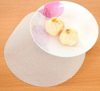 Wholesale New Arrive cm Round Silicone Eco friendly Steamer Pad Steamed Stuffed Bun Bread Pad Household Steamer Steamed Dumplings Mat