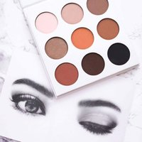 Wholesale Kylie Eyeshadow Cosmetics Jenner Kyshadow pressed powder eye shadow Kit Palette Bronze Preorder Cosmetic Epacket