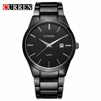 Men's auto new business - relogio masculino CURREN Luxury Brand Analog sports Wristwatch Display Date Men s Quartz Watch Business Watch Men Watch