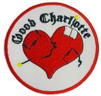 band good charlotte - GOOD CHARLOTTE Music Band EMBROIDERED IRON On Patch T shirt Transfer APPLIQUE Heavy Metal Rock Punk Badge Gift Party Favor