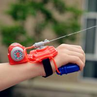 Wholesale New Arrival water gun spider man handsplasher water blaster plastic gun toy kids summer outdoor fun gift original box