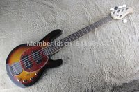 Wholesale Quality Music Man StingRay strings Electric Bass sunburst MusicMan Electric Guitar initiative to pick up