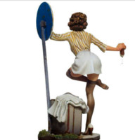 Wholesale 1 Scale mm Poker Girl C models sexy figure Resin Model Kit kit gel figure clip
