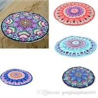 Wholesale pieces Indian Mandala Tapestry Summer Beach Towel Hippie Picnic Blanket Yoga Throw Mat