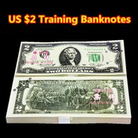 Wholesale 100PCS USA Dollars Home Garden Arts Craft Bank Staff Learning Training Banknotes Arts Collect Commemorative Christmas Gifts