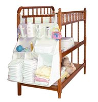 Wholesale Bag bed linen kit berco baby cot combination large crib bedding set waterproof stereo diaper storage Bag ropa de cama cuna combo