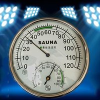 Wholesale High Quality Temperature Gauges Thermohygrometers Stainless Steel Metal Thermometer