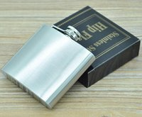 Wholesale 5oz ml High Quality Cute oz Hip Flask Stainless Steel Drink Liquor Flask Whisky Alcohol