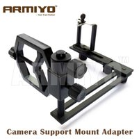 Wholesale Armiyo Multifunction Universal Metal Tripod Holder Digital Camera Cell Phone Attach Spotting Scope Telescope Bracket Support Mount Adapter