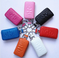 Wholesale High quality Car Key Holder Case Bag Cover For VW BMW AUDI MAZDA LEXUS NISSAN VIP BUICK