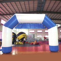 animes names - Outdoor Decoration Inflatable Finish Line Arch White and Blue Inflatable lawn Archway with Your Brand Name Customized