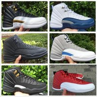 Cheap Wholesale Retro 12 Basketball Shoes Men Cheap XII Boots High Quality For Sale Sneakers 2016 New Online Sport Shoes Free Drop Shipping