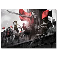 attack wall - Custom Art Posters Attack On Titan Japan Anime X75cm Living Room Poster Birthday Gift