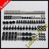 Wholesale 100 For KAWASAKI NINJA R ER6F ER F Body Fairing Bolt Screw Fastener Fixation Kit