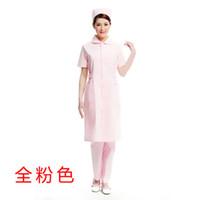 beauty overalls - Doctor white long sleeved dress nurse short sleeved uniform experiment under drugstore beauty salon overalls