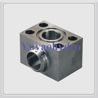 Wholesale 2016 New Arrival Time limited Forged Flange Welding Carbon Steel Square Topografia Sae Single Part Butt weld Flanges Elbow Block Adapter