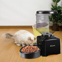 dry dog food - Large Automatic Pet Feeder Portion Control Dog Cat Capacity L Dry Food