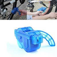 Wholesale Bicycle Chain Cleaner For Mountain Bike Bicycle Block Chain Wash Cleaner Tool Brushes Scrubber Kit Box For MTB BMX