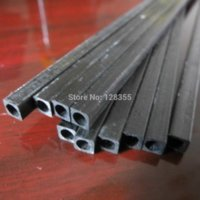 antenna news - 10pcs x5x4mm L200mm Carbon Fiber Rods for RC Plane Square cube DIY tool w53 rod news