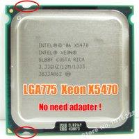 Wholesale Funciona em Processador LGA mainboard sem necessidade de adaptador Xeon X5470 GHz M perto de LGA775 Core Quad QX9650 CP