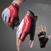 absorption yellows - bicycling gloves baseball football gloves sports car fitness shock absorption short finger semi finger Mountaineering Cycling gloves