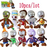 baby fashion games for girls - 10pcs cm Plants vs Zombies Plush Toys Fashion Games PVZ Soft Plush Stuffed Toys Dolls Baby Toy for Children Party Toys