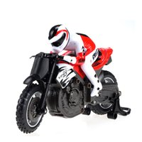 Wholesale New Arrival G RC Mini Motorcycle with Single Wheel Vertical Travel and Cross Obatacles Functions Toys for Big Kids